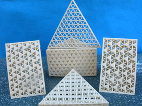 Triangular Box with Lid