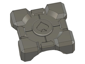 Companion Cube Template