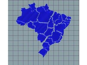 Brazil Map Puzzle