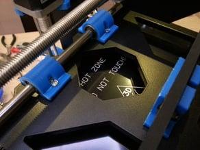 Prusa I3 - Soporte del rodamiento LM8UU a la araña