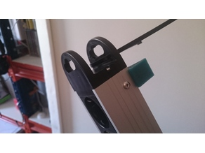 Bracket for fix multiple power socket outlet in table leg