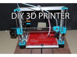 DIY 3D PRINTER with 6MM rod & T8 lead screw