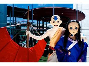 Avatar Aang Cosplay Mask
