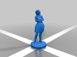 Female model standing 2
