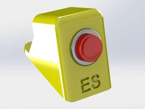 3dpBurner2 stop button panel