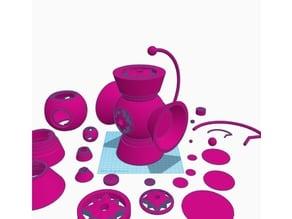 Violet Lantern Battery