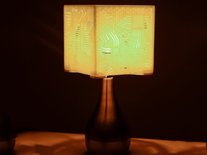 """Power My Circuit"" Lamp Shade By Mazuir Ross (Assembly Required)"
