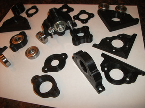Modular 608ZZ Bearing Blocks