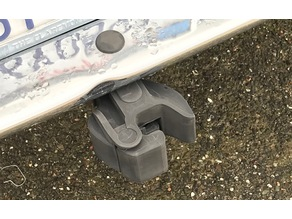 Railroad Knuckle Coupler Hitch