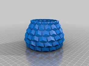 curved honeycomb 70mm height