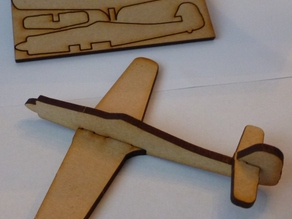Lasercut FW190D Focke-wulf