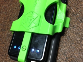 Ingress Pack -- iPhone 6 Plus in Otterbox Defender / Anker Astro E3 combination clip