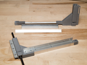 Arms for Duplicator heating bed.