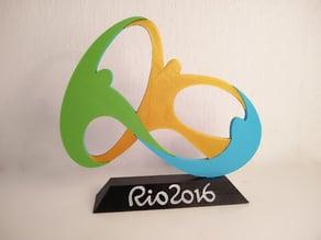 Rio - Official Logo Stand