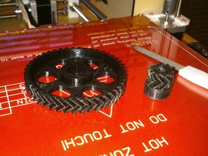 Extruder gears - few designs included .