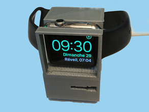 iWatch charger like an old  Apple Macintosh