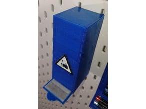 Klingenspender (Glasplatten-Schaber) für IKEA Skadis Lochwand
