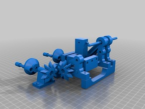 3D printable lathe, By Peter Robinson