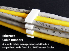 Ethernet Cable Runners