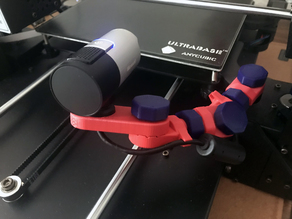 Modular Webcam Mount 3D Adjustable (Anycubic / Livecam)