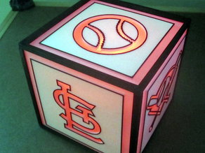 Baseball Light-Cube