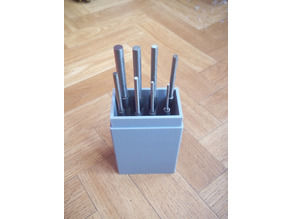 Silverline pin punches box