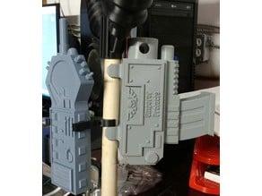 Warhammer 40k Staff Bolt gun