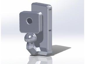 Raspberry pi Zero minimalist camera case + mount with angle control