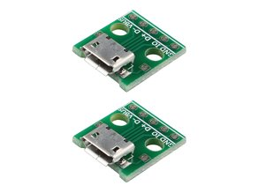 Micro USB breakout housing