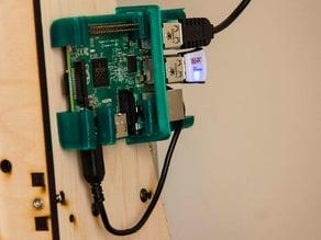 "Raspberry Pi 2 B Shelf Slide Bracket for Makerfarm i3v 10"""