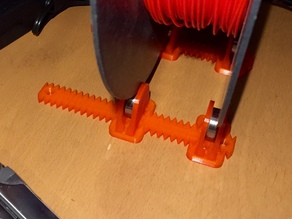 Adjustable Spool Coaster Rail System and Things