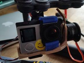 Gimbal base for GoPro