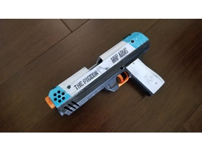 The Pigeon -semiauto magfed nerf pistol-