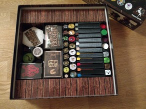 Robinson Crusoe Boardgame Box Inserts (Pegasus)