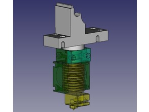 Extruder Base replacement for E3D V6 Hotend