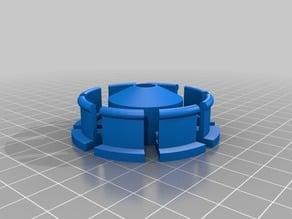 My Customized Parametric Filament Spool Hub with 608ZZ bearing