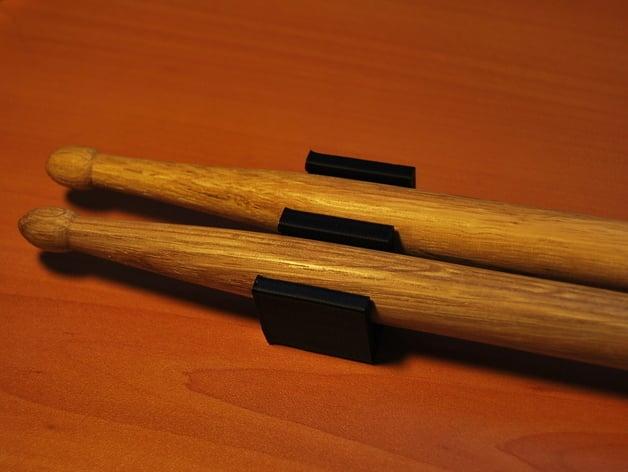 parametric drumstick holder by def thingiverse. Black Bedroom Furniture Sets. Home Design Ideas