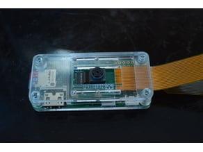 Raspberry Pi Zero Laser Cut Minimialistic Case (With Camera)