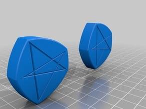 Non-regular wheels (Reuleaux Polygons)