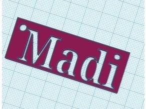 Key Chain madi