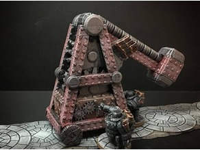 Netherforge Siege Maul (28mm/Heroic scale)