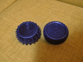 Glueless 1/10 RC car wheels