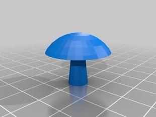 Overhang Test Mushroom