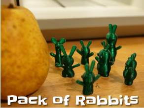Configurable pack of rabbits