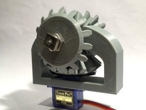 Micro Servo Dual Gear System