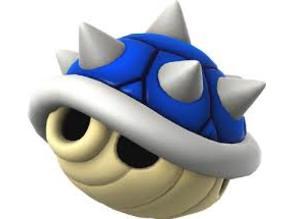 blue shell mario bros