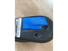 Mouse battery lid