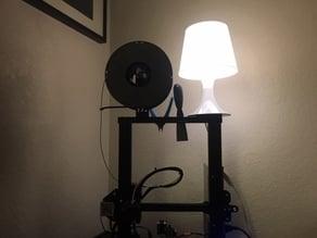 Ender Lamp Table for 2020 20mm Bar