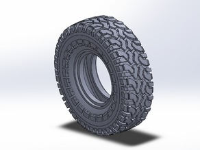 RC Crawler 1.9 Tire