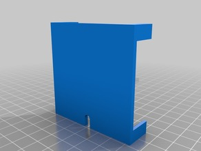 Thin insert and Stand for Minecraft Cube